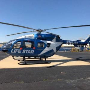 Metro Aviation delivers EC145e to Hartford Hospital