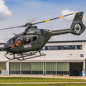 Airbus delivers fifth and final H135 for Bundeswehr training