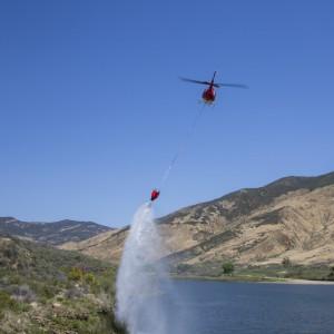 Dart firefighting bucket enters test phase