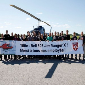 Bell delivers 100th 505 JetRanger X