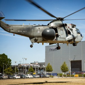 Thales pays tribute to the Sea King