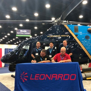 Leonardo delivers AW119Kx to NYC Department of Environmental Protection Police