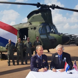 Netherlands signs combined Apache and Chinook sustainment contract with Boeing