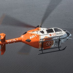 UT Health reveals new helicopter design