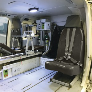 EASA approves United Rotorcraft EMS interior STC for AW139 and AW169