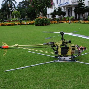 HAL Successfully Demonstrates 10Kg Helicopter UAV