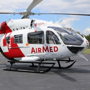 Metro delivers EC145E to University of Utah