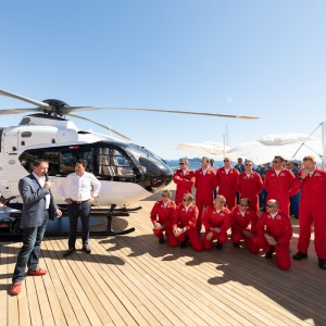 Red Arrows Support Handover of First ACH135 for charter ops