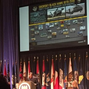 Sikorsky receives award from National Guard Association of the US
