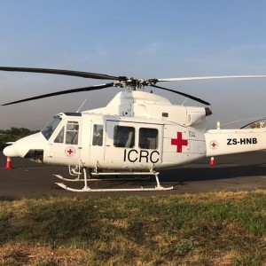 Ultimate Heli deploys 2 Bell 412EP's to Southern Sudan