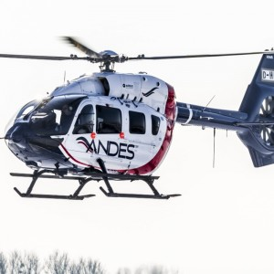 Waypoint Delivers One H145 Helicopter to Los Andes