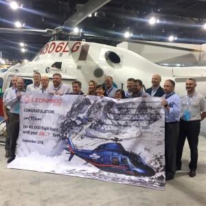 Life Flight Network AW119Kx passes 40,000 flight hours