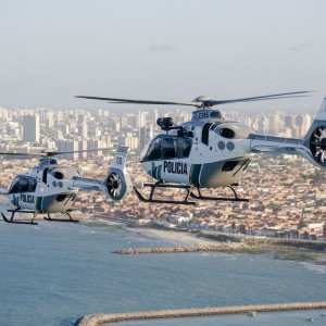Ciopaer receives H135 with Helionix in police configuration