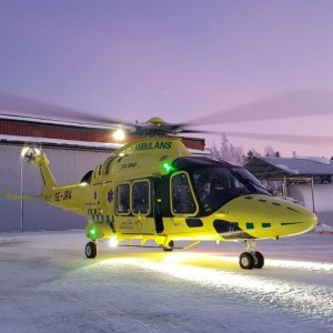 Aerolite Receives FAA STC for AW169 Air Medical Interior