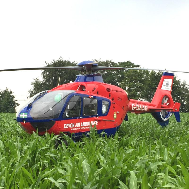 Devon Air Ambulance introduces new electrochemical tech