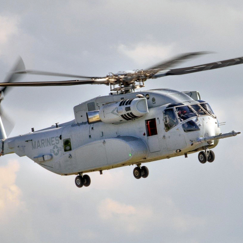 First CH-53K handed over to US Marine Corps