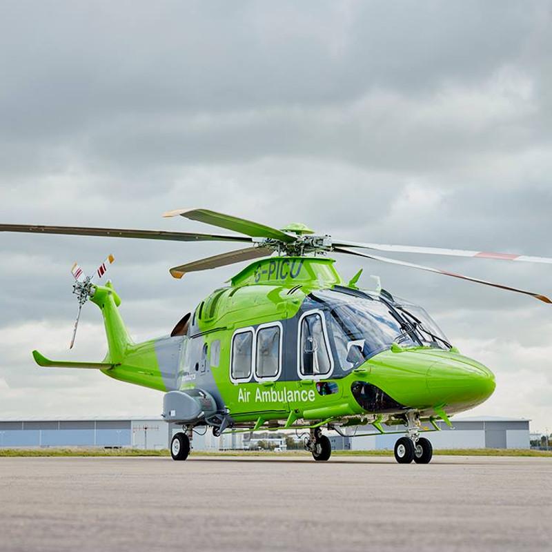 Children's Air Ambulance win prestigious healthcare award
