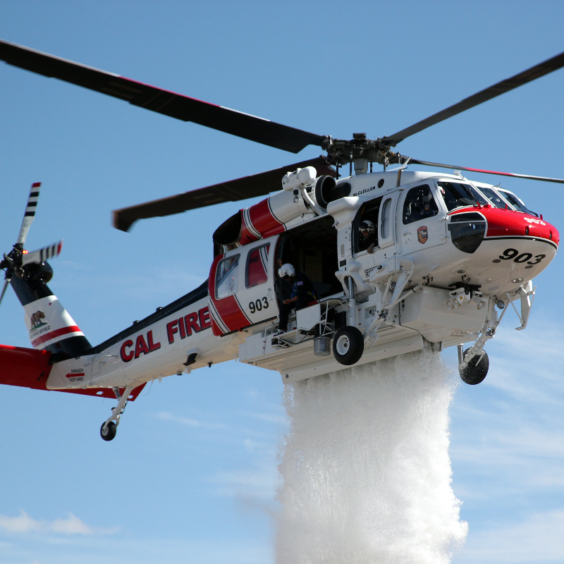 United Rotorcraft delivers two S70 Firehawks to Ventura County