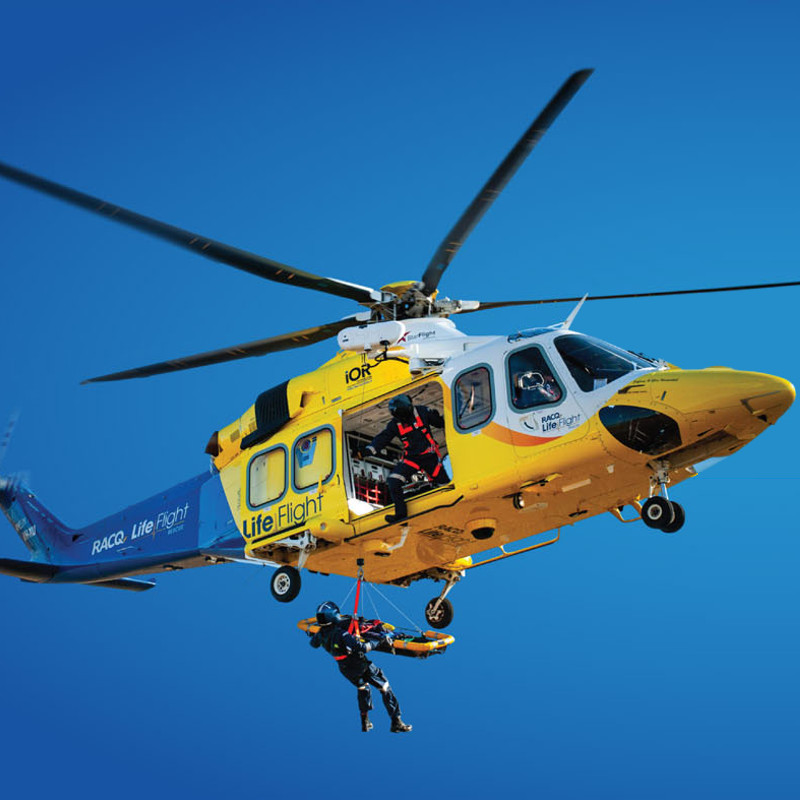 RACQ LifeFlight Rescue clocks up busiest year on record