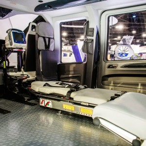 Airbus Helicopters unveils H160 air medical cabin concept by Metro Aviation