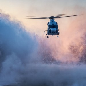 Airbus H160  handles Finland's winter