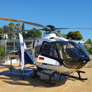Airbus Helicopters showed H135 at HeliRussia