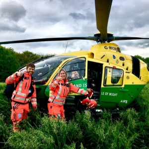 Hampshire and Isle of Wight Air Ambulance celebrates 12 years of service