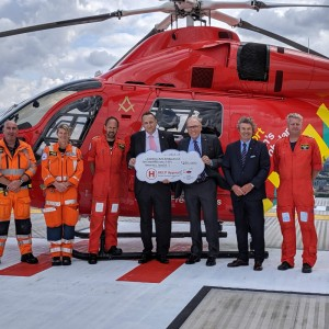 London's Air Ambulance appeal receives £2million boost