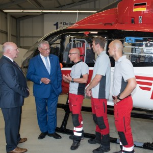 Bavaria's air rescue is considered a leader