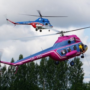 Russia in the lead at the 3rd stage of the Helicopter World Cup