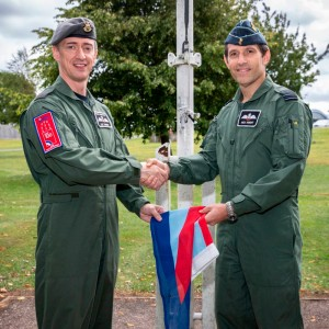 Helicopter pilot appointed new Station Commander at RAF Odiham