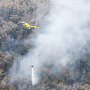 Airbus Foundation supports Bolivian efforts to fight fires in Amazon