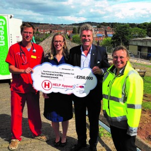 Royal Devon and Exeter hospital helipad to open by January 2020