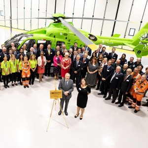 Official Royal Opening of Great Western Air Ambulance Charity's Air Base