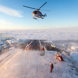DRF Luftrettung supports Arctic researchers