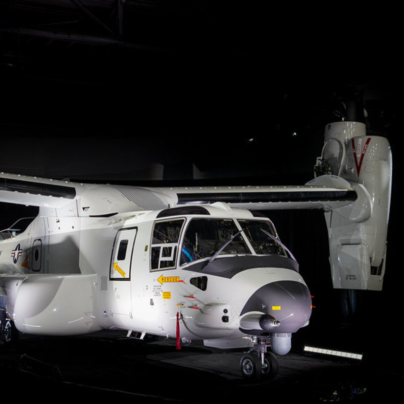 USS Abraham Lincoln flies first casevac exercise with CMV-22B