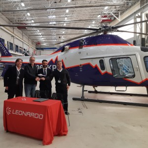 AW119Kx Delivered to Rotortec
