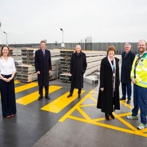 HELP Appeal celebrates construction progress on new Helipad