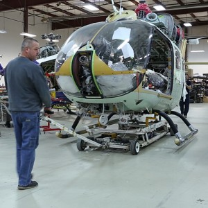 Metro Aviation offers insider access to its completion center