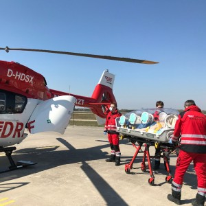 First use with DRF Luftrettung EpiShuttle for Civil Air Ambulance