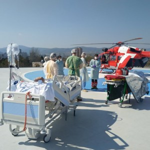 COVID-19 – Rega helicopter crews flew 74 COVID-19 patients