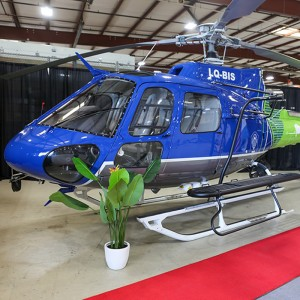 Metro delivers refurbished AS350B3s to Buenos Aires police
