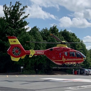 Hereford County Hospital helipad is now open
