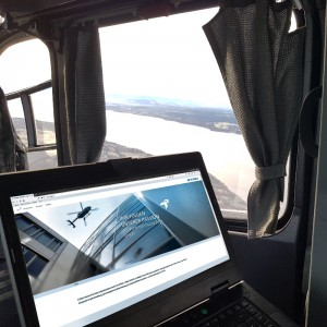 ESG enables Internet in helicopters