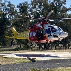 New helipad provides better service for Quirindi Hospital