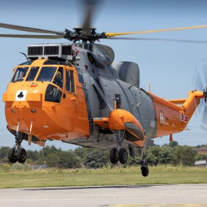 Sea King visits Yeovil for 50th anniversary