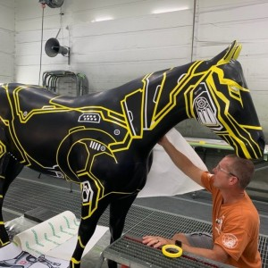 "Bell Refreshes Amarillo Horse ""Straight Up"""