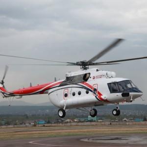 Rostec made the first civilian Arctic Mi-8AMT