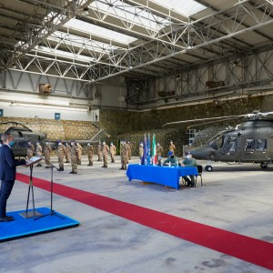 Leonardo delivers its first basic training AW169 to the Italian Army