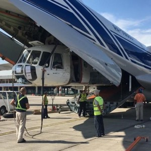 Volga-Dnepr delivers two Mi-8s for fire-fighting in Malaysia